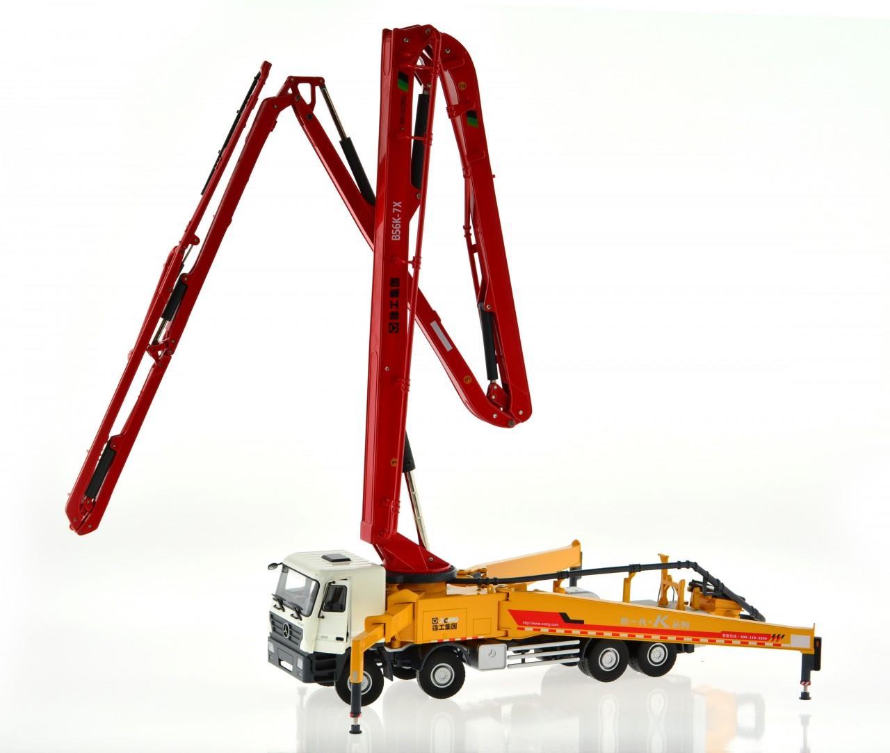 1:35 scale concrete pump truck - CIS-Associates, LLC